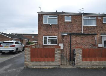 Thumbnail 3 bedroom end terrace house for sale in Frampton Close, Bransholme, Hull