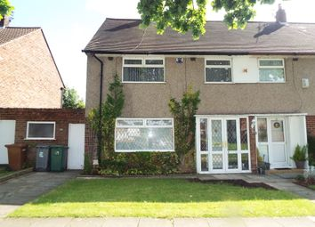 Thumbnail 3 bed semi-detached house for sale in Clifton Avenue, Eastham, Wirral