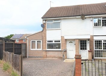 Thumbnail 3 bed end terrace house to rent in Archer Close, Rushey Mead, Leicester