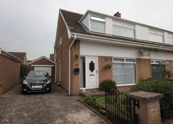 Thumbnail 3 bed semi-detached house for sale in Gannet Way, Carrickfergus