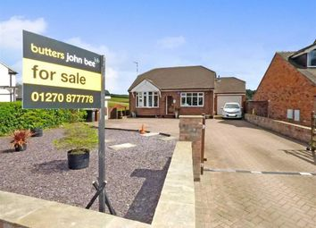 Thumbnail 3 bed detached bungalow for sale in Knowsley Lane, Church Lawton, Stoke-On-Trent