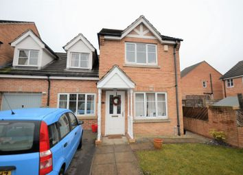 Thumbnail 3 bed town house for sale in 37 Gleneagles Court, Normanton