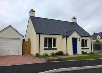 Thumbnail 2 bedroom detached bungalow for sale in Plot No 10, Triplestone Close, Herbrandston, Milford Haven