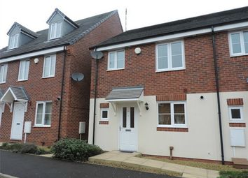 Thumbnail 3 bed semi-detached house to rent in Jefferson Way, Banner Brook, Coventry, West Midlands