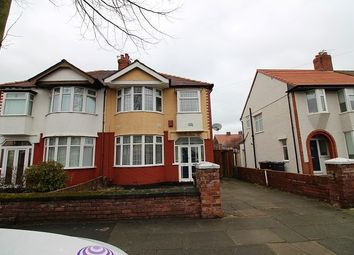 Thumbnail 3 bed property to rent in Cranfield Road, Crosby, Liverpool