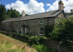 Thumbnail 6 bed farmhouse for sale in Lake Bala, Snowdonia