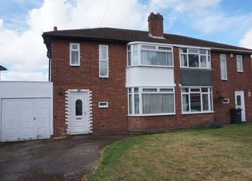 Thumbnail 3 bed semi-detached house for sale in Rosslyn Road, Sutton Coldfield
