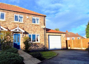 Thumbnail 2 bed semi-detached house for sale in Station Road, Rawcliffe, Goole