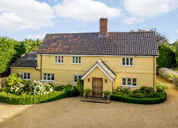 Thumbnail 4 bed detached house for sale in Dereham Road, Mattishall, Norfolk
