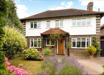 Thumbnail 4 bedroom detached house for sale in Hillcrest Gardens, Esher, Surrey