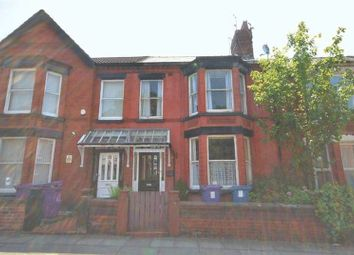 Thumbnail 4 bed terraced house for sale in Arundel Avenue, Aigburth