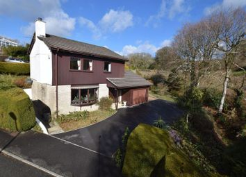 Thumbnail 4 bed detached house for sale in Brookside Close, Launceston