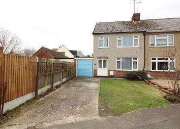 Thumbnail 3 bed semi-detached house for sale in Lynmouth Avenue, Chelmsford