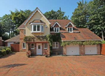 Thumbnail 5 bed detached house for sale in Bakers Drove, Rownhams, Southampton