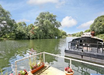 Thumbnail 2 bed houseboat for sale in Ryepeck Meadow Moorings, Chertsey Road, Shepperton