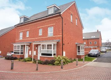 Thumbnail 4 bed semi-detached house for sale in Bamber Close, West End, Southampton
