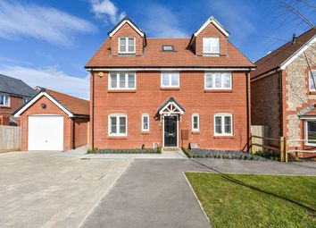 Thumbnail 5 bed detached house for sale in Longbourn Way, Medstead, Hampshire