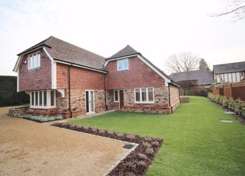 Thumbnail 4 bedroom detached house to rent in Blackhall Lane, Sevenoaks