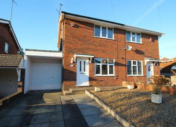 Thumbnail 2 bedroom semi-detached house for sale in Whiteridge Road, Kidsgrove, Stoke-On-Trent