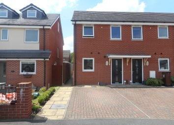 Thumbnail 2 bed end terrace house for sale in Oval Drive, Wolverhampton