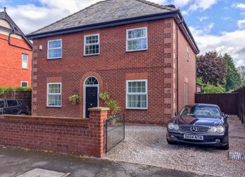 Thumbnail 4 bed detached house for sale in Poplar Grove, Sale, Greater Manchester