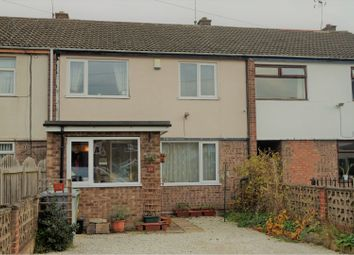 Thumbnail 3 bed terraced house for sale in Stuart Avenue, New Ollerton, Newark