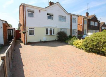 Thumbnail 3 bed semi-detached house for sale in Norman Road, Barton Le Clay, Bedfordshire