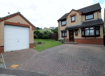 Thumbnail 4 bed detached house for sale in Edrich Way, Norwich