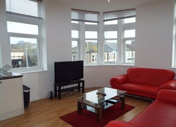 Thumbnail 2 bed flat to rent in Moorland Road, Cardiff