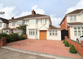 Thumbnail 4 bed semi-detached house for sale in Stour Avenue, Norwood Green
