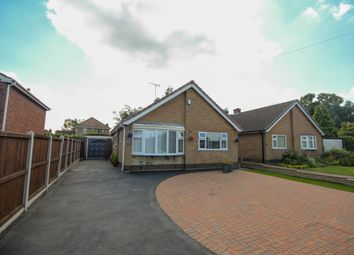 Thumbnail 2 bed detached bungalow for sale in Rushdale Avenue, Littleover, Derby