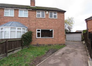 Thumbnail 2 bed semi-detached house for sale in Heddington Close, Leicester