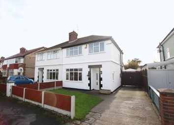 Thumbnail 3 bed semi-detached house for sale in Heathbank Avenue, Irby, Wirral