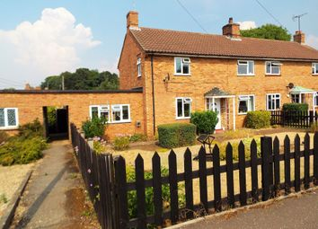 Thumbnail 3 bed semi-detached house for sale in School Lane, Northwold, Thetford