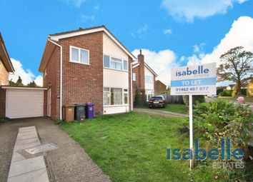Thumbnail 3 bed detached house to rent in Wymondley Road, Hitchin