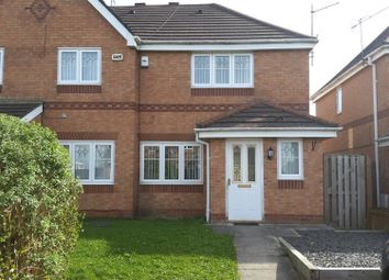 Thumbnail 3 bed semi-detached house for sale in Hobberley Drive, Holland Park, Skelmersdale