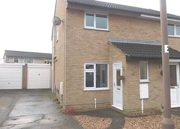 Thumbnail 2 bed semi-detached house to rent in Heather Close, Rugby, Warwickshire
