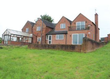 Thumbnail 5 bed detached house for sale in Moisty Lane, Marchington, Uttoxeter