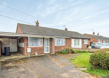 Thumbnail 3 bed semi-detached bungalow for sale in Boyd Avenue, Toftwood, Dereham, Norfolk