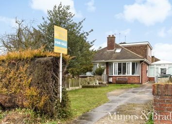 Thumbnail 3 bed semi-detached bungalow for sale in Norwich Road, Caister-On-Sea, Great Yarmouth