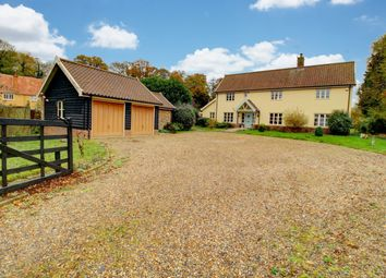 Thumbnail 5 bedroom detached house for sale in Sudbury Road, Sicklesmere, Bury St. Edmunds