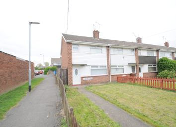 Thumbnail 3 bedroom end terrace house for sale in Haymarket Close, Hull