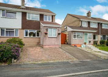 Thumbnail 3 bed semi-detached house for sale in Hunters Close, Ivybridge