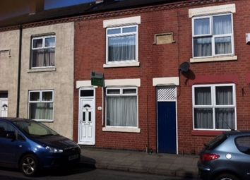 Thumbnail 2 bed terraced house to rent in Dunton Street, Woodgate, Leicester