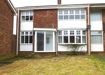 Thumbnail 3 bed end terrace house for sale in Eddleston Walk, Hartlepool