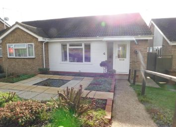 Thumbnail 2 bed semi-detached bungalow for sale in Woodcote, Stowmarket