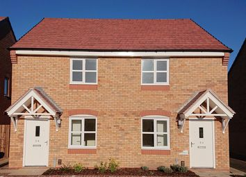 Thumbnail 2 bed semi-detached house for sale in 36, Wilde Meadow, Shrewsbury