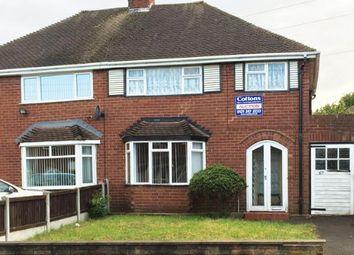Thumbnail 3 bed semi-detached house for sale in Belton Avenue, Wolverhampton, West Midlands
