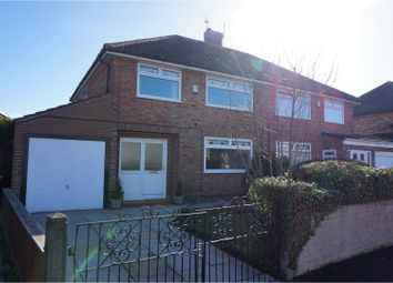 Thumbnail 3 bed semi-detached house for sale in Rugby Drive, Liverpool