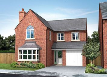 Thumbnail 4 bed detached house for sale in The Sutton, Newcastle Road, Arclid, Cheshire